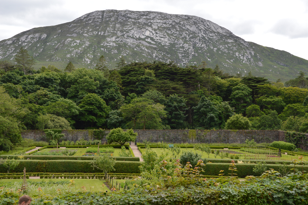 Kylemore Abbey, Co Galway Walled Garden