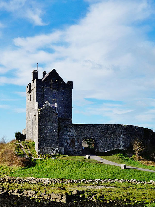 Day Tour of Burren & Cliffs of Moher - Dunguaire Castle