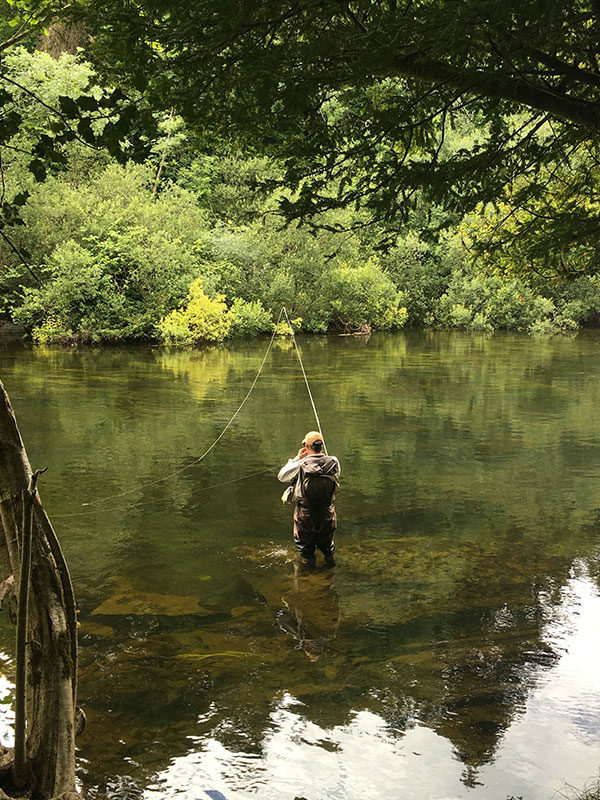 Fly Fishing in the River Cong
