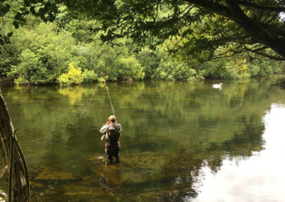 Private Driver Ireland - Fly Fishing Cong River Ireland
